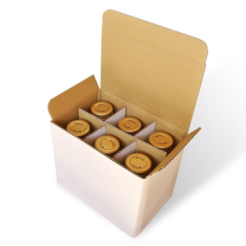 6本箱でお届けします
